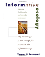 Information Ecology by Tom Davenport