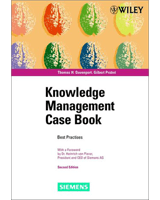 Knowledge Management Case Book by Tom Davenport