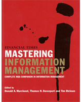 Mastering Information Management By Tom Davenport