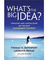 What's the Big Idea by Tom Davenport
