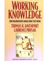 Working Knowledge by Tom Davenport