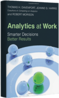 Analytics at Work by Tom Davenport