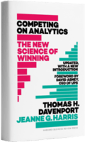 Competing on Analytics Updated by Tom Davenport